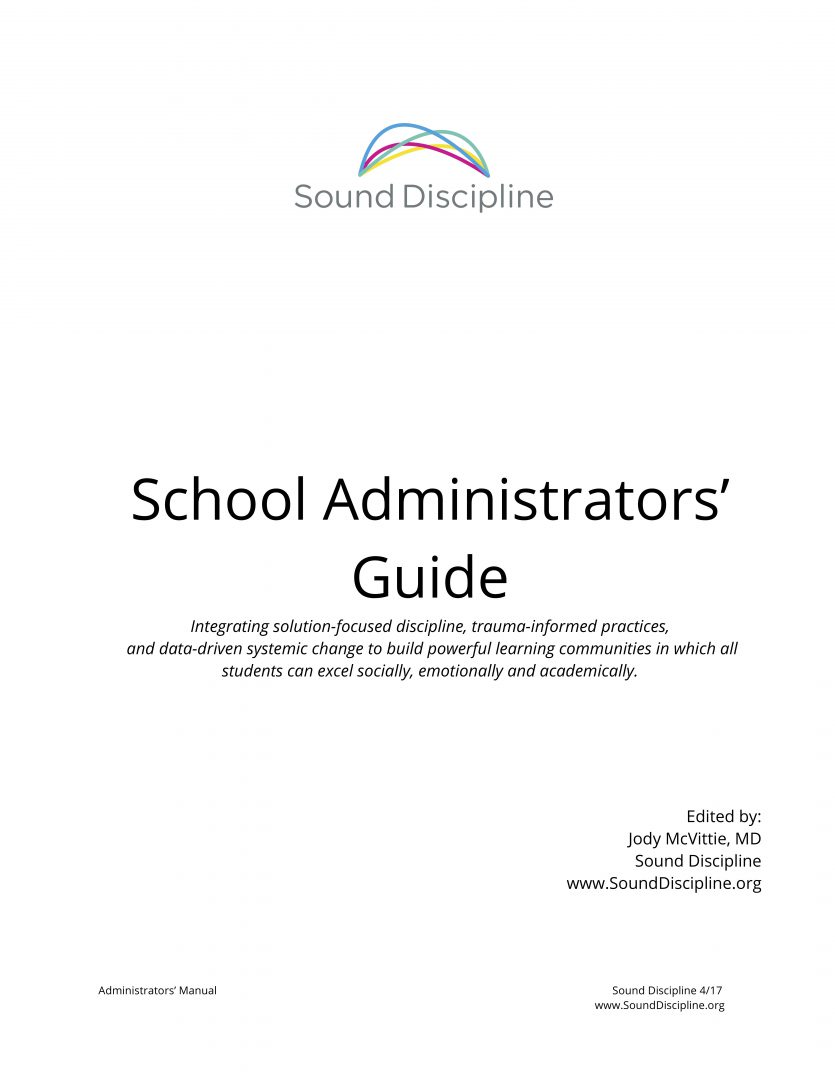 Administrative Manual from Sound Discipline Cover